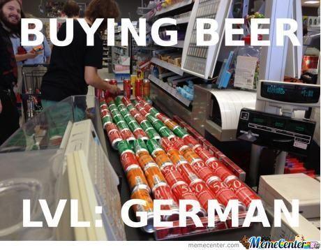 buying-beer-level german